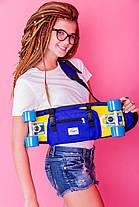 "Zippy Bag 22"" Blue - Синяя Сумка для пенни, фото 3"
