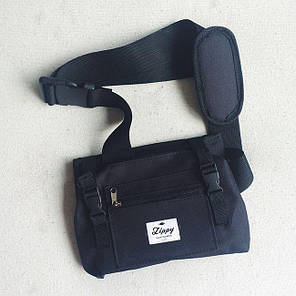 "Zippy Bag 22"" Black - Черная Сумка чехол для пенни борда, фото 2"