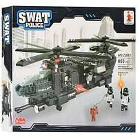 Конструктор Ausini Поліцейський вертоліт 3236 деталей