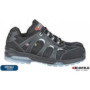 Ботинки для электриков BRC-FRANKLIN покрытые нейлоновой тканью, черного цвета. COFRA