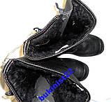Чоботи Зимові ТАLAN з хутром маслобензостійкі, легкі спецвзуття 42, 43, фото 3
