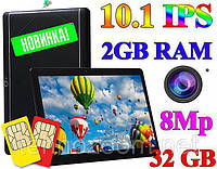 Новый Планшет-Телефон KT990 10.1 дюймов 2GB RAM 32GB ROM 3G GPS + Чехол