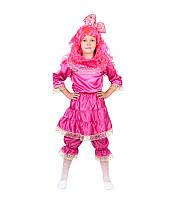 Карнавальный костюм КУКЛА с париком для девочки 4,5,6,7,8,9 лет детский маскарадный костюм КУКЛЫ