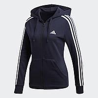 Женская толстовка Adidas Performance Essentials 3-Stripes (Артикул: DN4422), фото 1