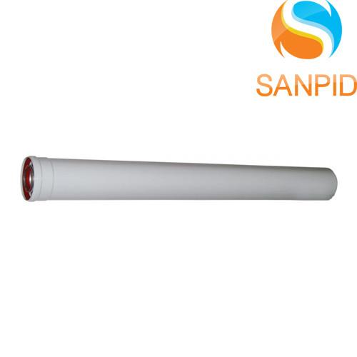 Удлинитель для коаксиального дымохода конденсационного котла 60/100 L=500 мм