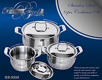 Набор посуды Barton Steel 6556