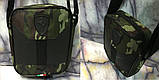 Барсетка Puma Ferrari сумка мужская через плечо коттон+кож.зам. В расцветках, фото 6