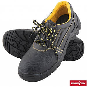 Защитная обувь BBRYES-P-S1 BY со стальными носками,черного цвета. REIS