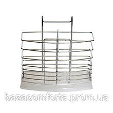 Подставка навесная Kamille для ложек и вилок 17*6*16см