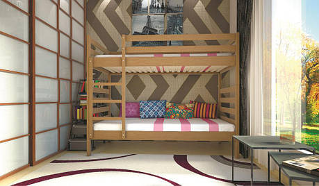 Кровать ТИС Трансформер-1 90*200 Бук, фото 2