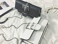 Молодежная женская сумка на цепочке в стиле Ksks