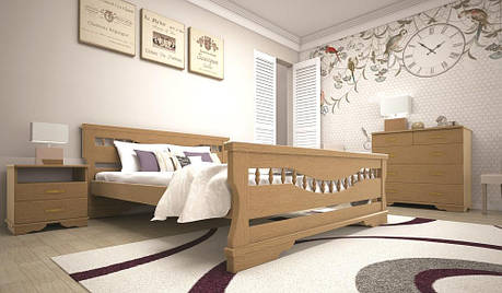 Кровать ТИС АТЛАНТ 10 140*200 сосна, фото 2