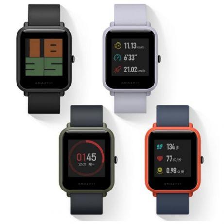 b10b935b Смарт часы Xiaomi Huami AMAZFIT Bip Глобальная версия РУССКИЙ ЯЗЫК -  Интернет-магазин