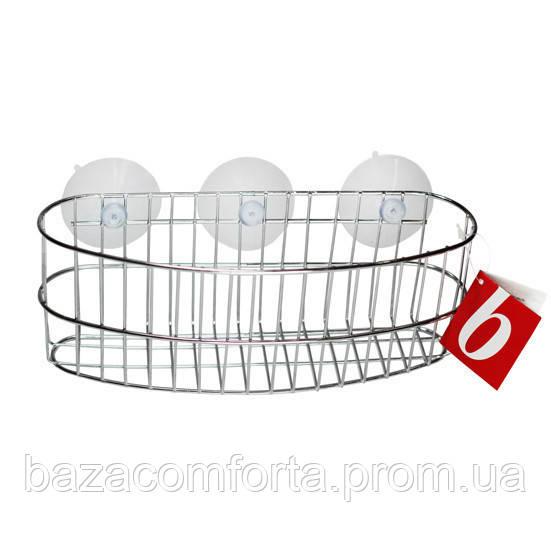 Корзинка для ванной Besser овальная 23*8.5*9см