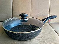 Сковорода ВОК  Vissner VS 7581-24 marblе, фото 1