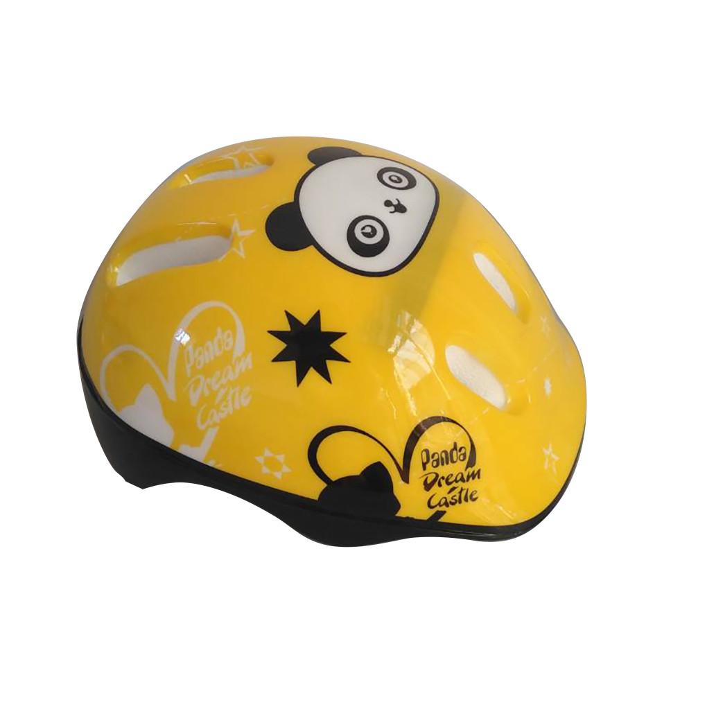 Детский защитный шлем Панда 779-124 Желтый 55154T-5