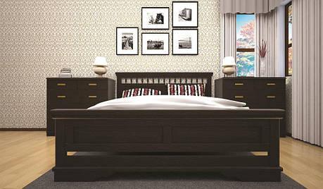 Кровать ТИС АТЛАНТ 13 140*200 сосна, фото 2
