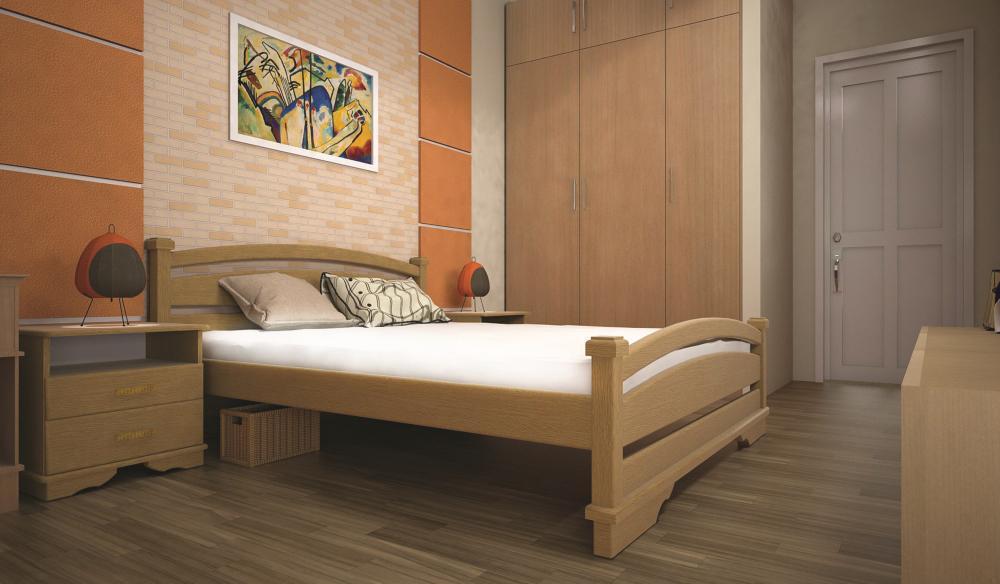 Кровать ТИС АТЛАНТ 2 180*200 сосна