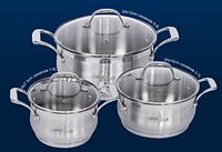 Набор посуды Barton Steel 6566