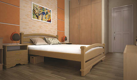 Кровать ТИС АТЛАНТ 2 120*200 бук, фото 2