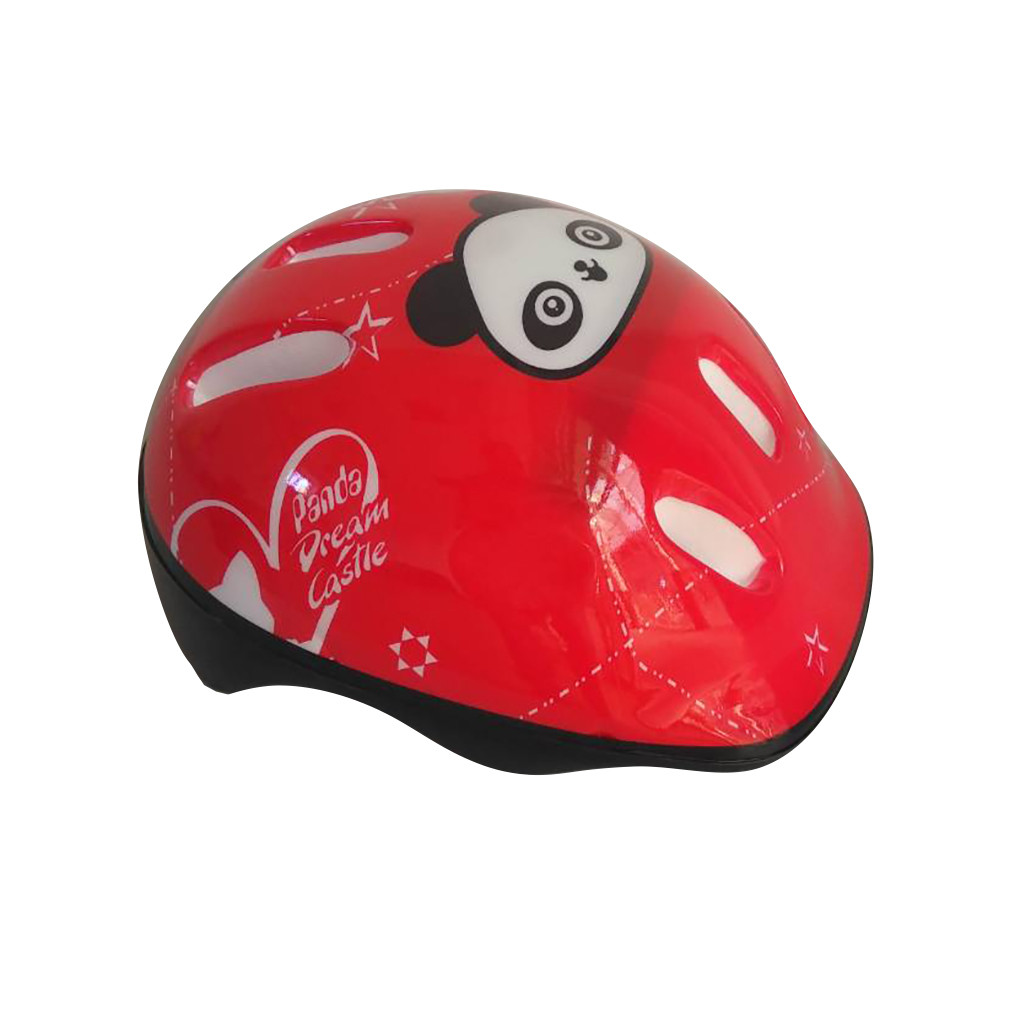 Детский защитный шлем Панда 779-124 Красный 55154T-1