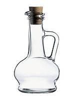 Кувшин стеклянный Pasabahce Olivia 260мл для масла/уксуса с пробкой (без упаковки)