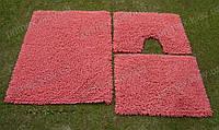 Коврик для ванной хлопковый, 50*60см. цвет розовый. Коврик для ванной купить