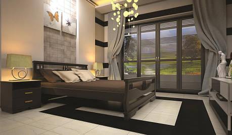 Кровать ТИС АТЛАНТ 3 140*200 сосна, фото 2