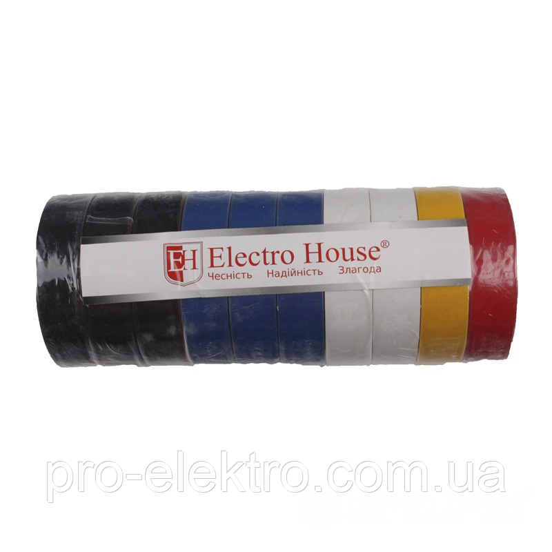 EH-AHT-1834 Ассорти изолента 25м. 0,15мм х 18мм