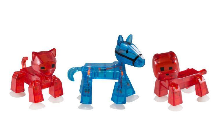 Студия Стикбот с животными (Stickbot Action Pack Pets), 3 вида