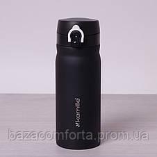 Термос-бутылка 2005 из нержавеющей стали Kamille 360мл, фото 3