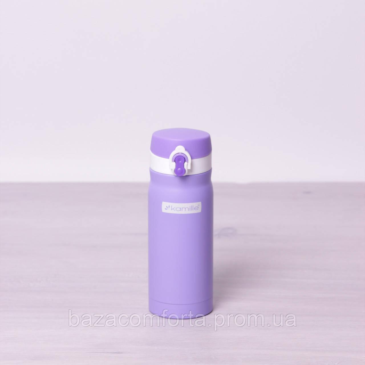 Термос-бутылка 2005 из нержавеющей стали Kamille 360мл