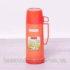 Термос 2070 пластиковый со стеклянной колбой Kamille 450мл, фото 3
