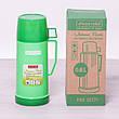 Термос 2071 пластиковый со стеклянной колбой Kamille 600мл, фото 2
