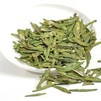 Чай китайский зелёный лоунтин, аналог элитного сорта лунцзин, мягкий вкус, приятный нежный аромат, пакет 100г