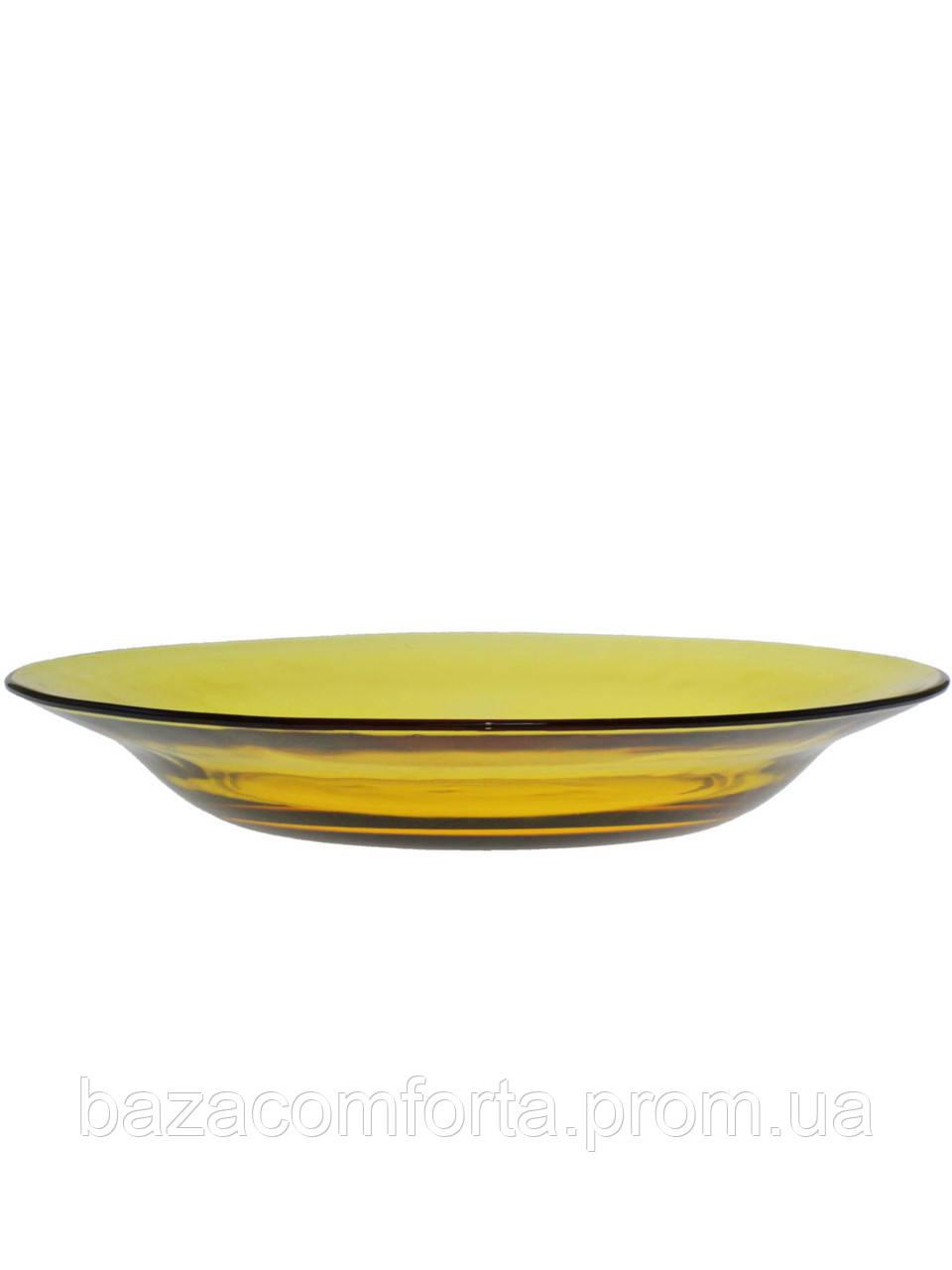 Тарелка суповая стеклянная Pasabahce Amber Ø225мм