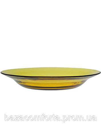 Тарелка суповая стеклянная Pasabahce Amber Ø225мм, фото 2