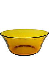 Салатница стеклянная Pasabahce Amber Ø225мм