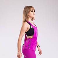 Майка женская Purple Flywheel от Push it разлетайка спортивная, фиолетовый, фото 1