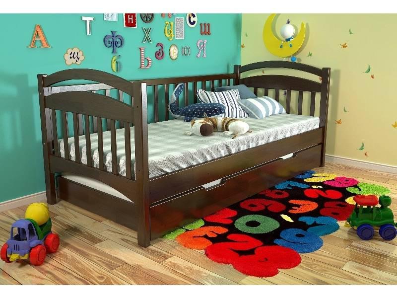 ✅Деревянная кровать Алиса 80х190 см ТМ Arbor Drev