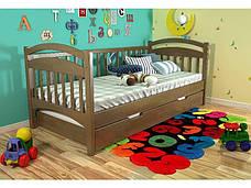 ✅Деревянная кровать Алиса 80х190 см ТМ Arbor Drev, фото 3