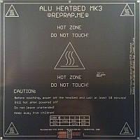 Нагревательная панель Heated Bed Alu MK3 для 3D принтера