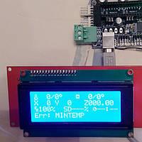 Модуль управления для 3D принтера с ЖК экраном 2004