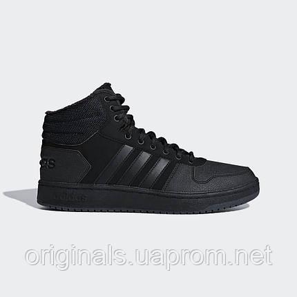 Зимние кроссовки Adidas Hoops 2.0 Mid B44621, фото 2