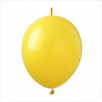 """Шар линколун Link 6"""" Желтый (yellow) 100 шт."""