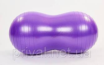 Мяч для фитнеса Овал (фитбол) сатин 45смх90см FI-7135