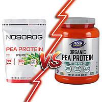 Почему гороховый протеин от NOSOROG Nutrition лучше чем от NOW?
