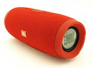 Водонепроницаемая JBL Charge 3 портативная Bluetooth колонка  Красный