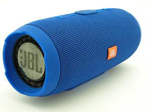 Водонепроницаемая JBL Charge 3 портативная Bluetooth колонка  Синий