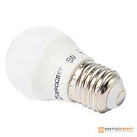 Лампа светодиодная ЕВРОСВЕТ 5Вт 4200К Р-5-4200-27 E27